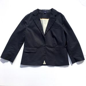 GAP Woven Fitted Navy Blue School Blazer sz 6